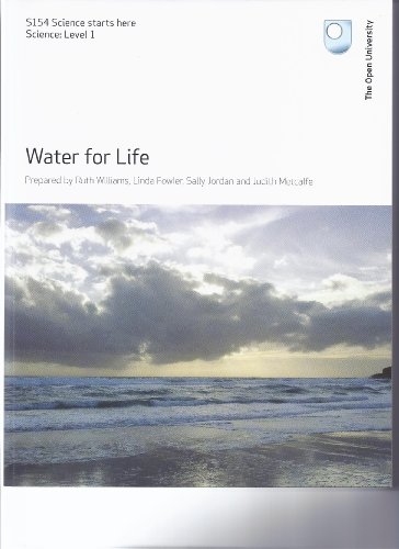 WATER FOR LIFE (S154 Science starts here)