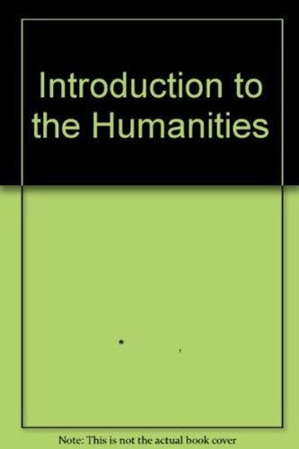 An Introduction to the Humanities By OPEN UNIVERSITY