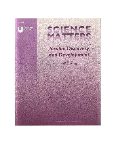 Science Matters: Insulin - Discovery and Development by Thomas, J. Paperback The