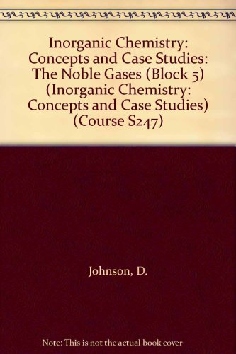 Inorganic Chemistry By D. Johnson