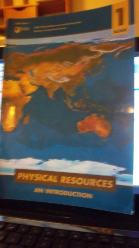Physical Resources and Environment By P. Sheldon