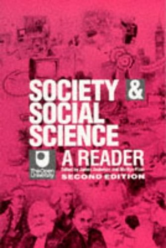 Society and Social Science By James Anderson