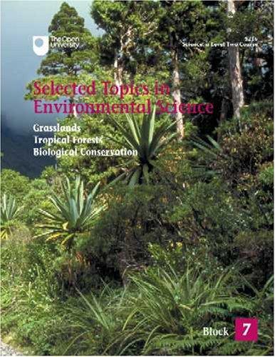 Grasslands, Tropical Forests, Biological Conservation By H. Denny