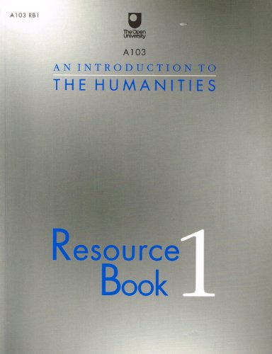 An Introduction to the Humanities: Bk. 1: Resource Book (Cours... Paperback Book