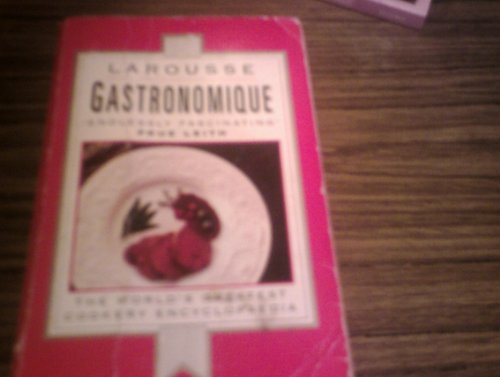 Larousse Gastronomique By Robert Courtine