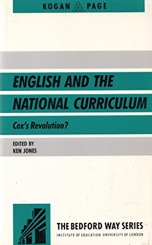 English in the National Curriculum By Ken Jones