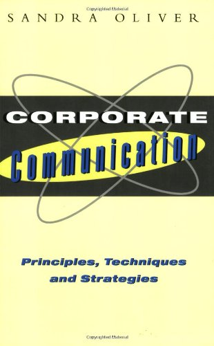 Corporate Communication By Sandra Oliver