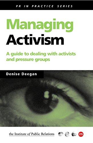 Managing Activism By Denise Deegan