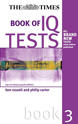 The Times Book of IQ Tests: Book Three By Ken Russell