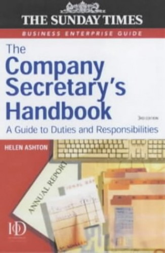 The Company Secretary's Handbook By Helen Ashton