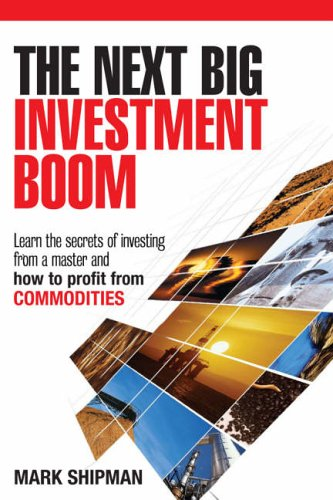 The Next Big Investment Boom By Mark Shipman