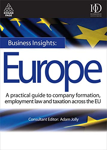 Business Insights: Europe By Adam Jolly