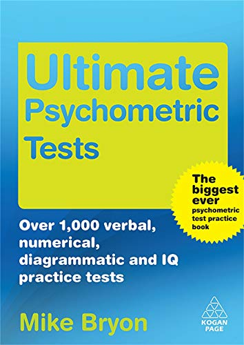 Ultimate Psychometric Tests  Over 1000 Verbal Numerical