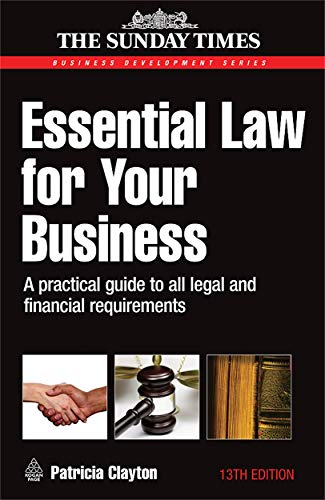 Essential Law for Your Business By Patricia Clayton