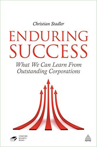 Enduring Success By Christian Stadler