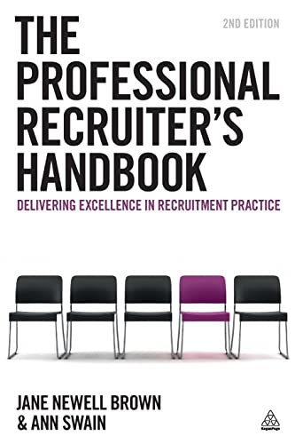 The Professional Recruiter's Handbook By Jane Newell Brown