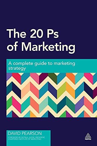 The 20 Ps of Marketing By David Pearson
