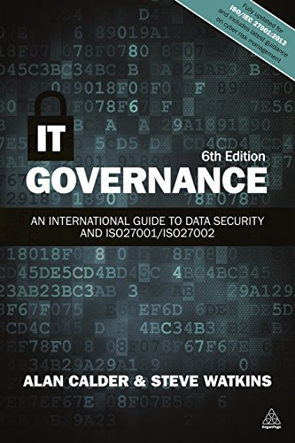 IT Governance: An International Guide to Data Security and ISO27001/ISO27002 By Alan Calder