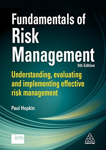 Fundamentals of Risk Management By Paul Hopkin