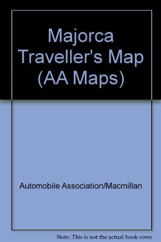 Majorca Traveller's Map By Automobile Association/Macmillan