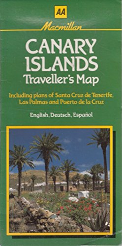 Canary Islands Traveller's Map By Automobile Association/Macmillan