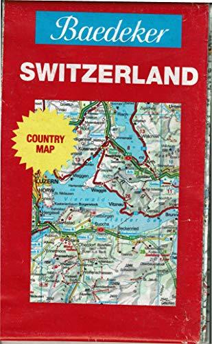 Baedeker's Switzerland: Map by