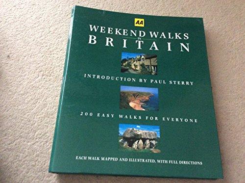 Weekend Walks in Britain By Paul Sterry