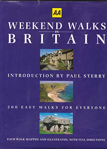 Weekend Walks in Britain By P. Sterry