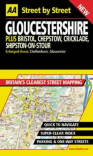 AA Street by Street Gloucestershire by