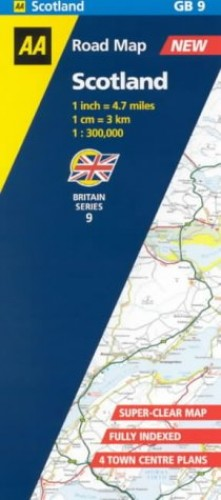 Scotland (AA Road Map Britain) Created by AA Publishing