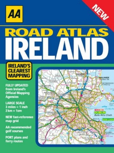 AA Road Atlas Ireland by