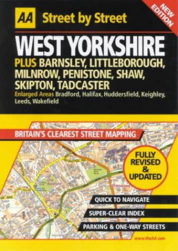AA Street by Street West Yorkshire by