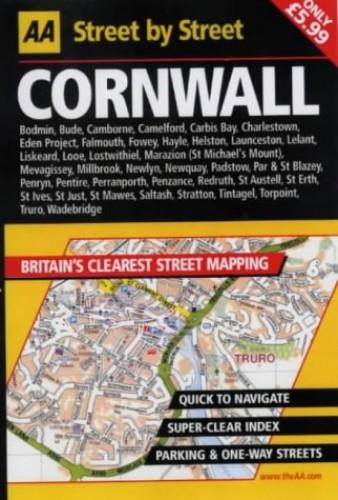 AA Street by Street Cornwall