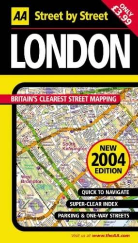 AA Street by Street London By Michelin Travel Publications