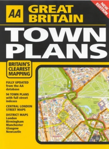 AA Great Britain Town Plans By AA Publishing