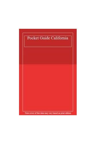 Pocket Guide California