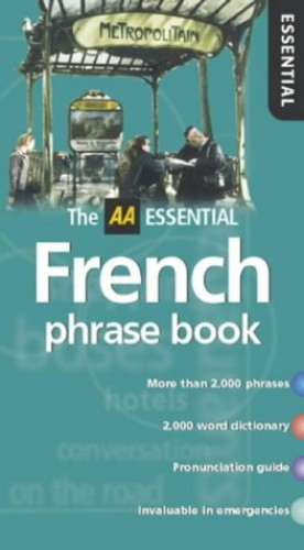 AA Essential French Phrasebook