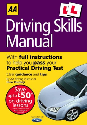 AA Driving Skills Manual (AA Driving Test Series) by Unknown Author