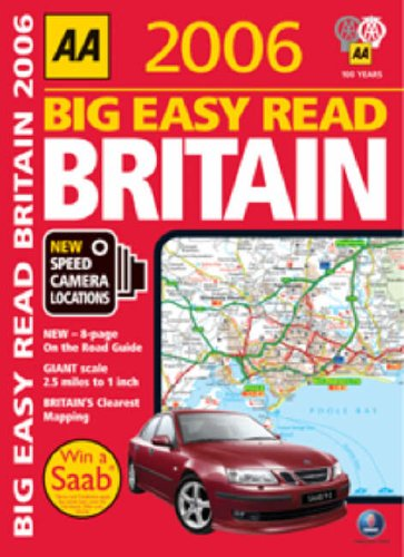AA Big Easy Read Britain By AA