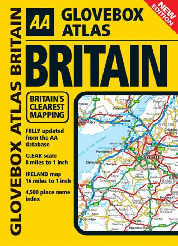 AA Glovebox Atlas Britain by