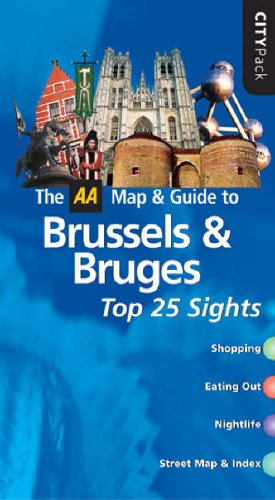 AA CityPack Brussels and Bruges