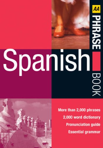 AA Spanish Phrase Book by