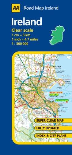 AA Road Map Ireland By AA Publishing