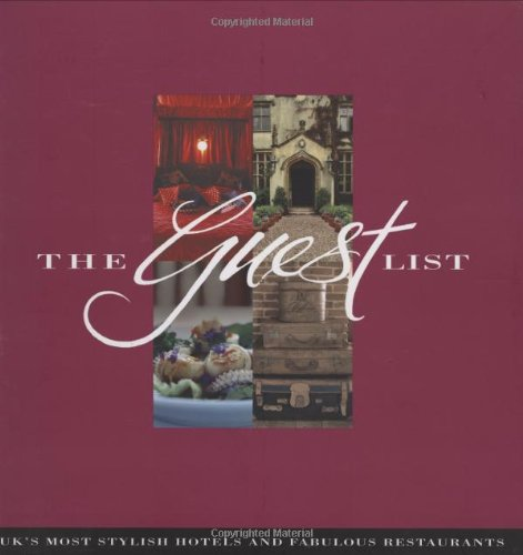 The Guest List By Jenni Muir