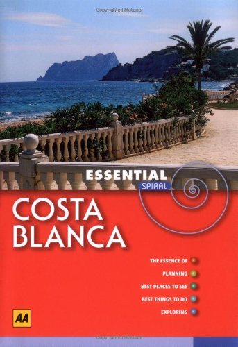 AA Essential Spiral Costa Blanca and Alicante by