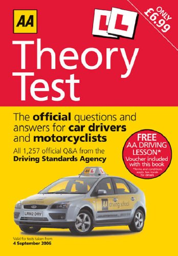 AA Theory Test (AA Driving Test Series)