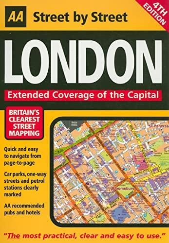 AA Street by Street London By AA Publishing