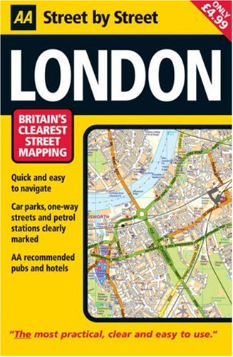AA Street by Street London Map By AA Publishing