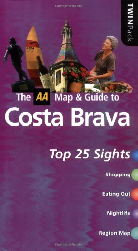 Costa Brava By AA Publishing