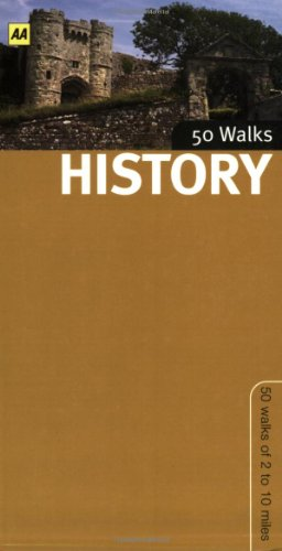 History Walks in Britain By AA Publishing